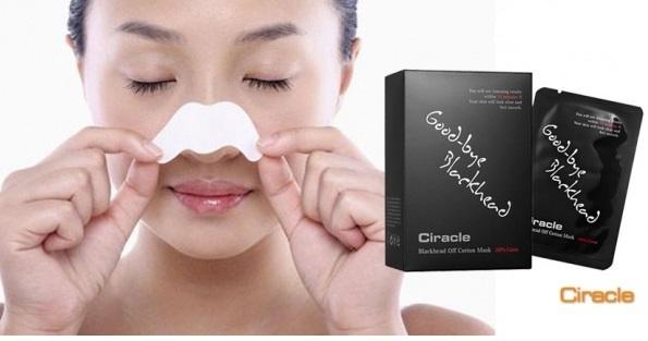 Маска для удаления черных точек Ciracle Pore Control Blackhead Off Cotton Mask