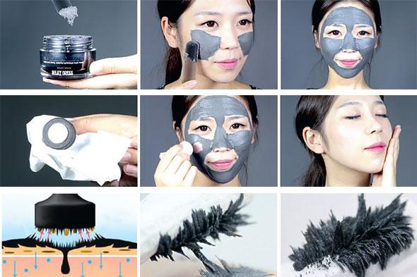 Магнитная черная маска black luster mask