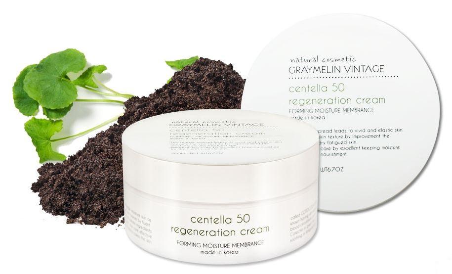 Крем Centella 50 regeneration cream от Graymelin Korea