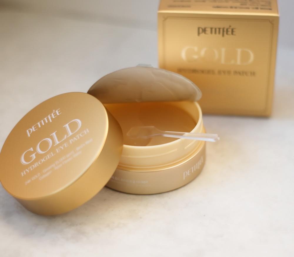 патчи для кожи под глазами с золотом