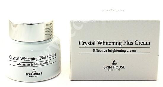 Осветляющий крем против пигментации кожи лица Crystal Whitening The Skin House