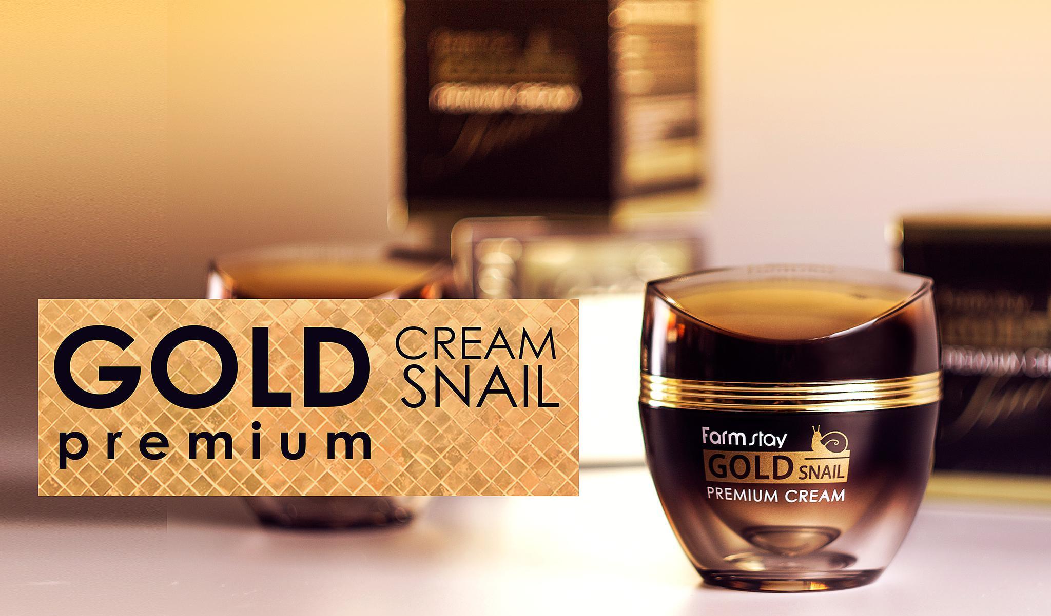 КремFarmStay Gold Snail Premium