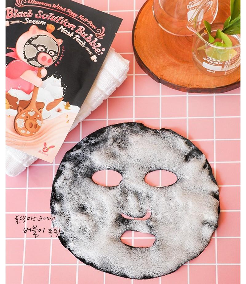 Тканевая пузырьковая маска для лица Elizavecca