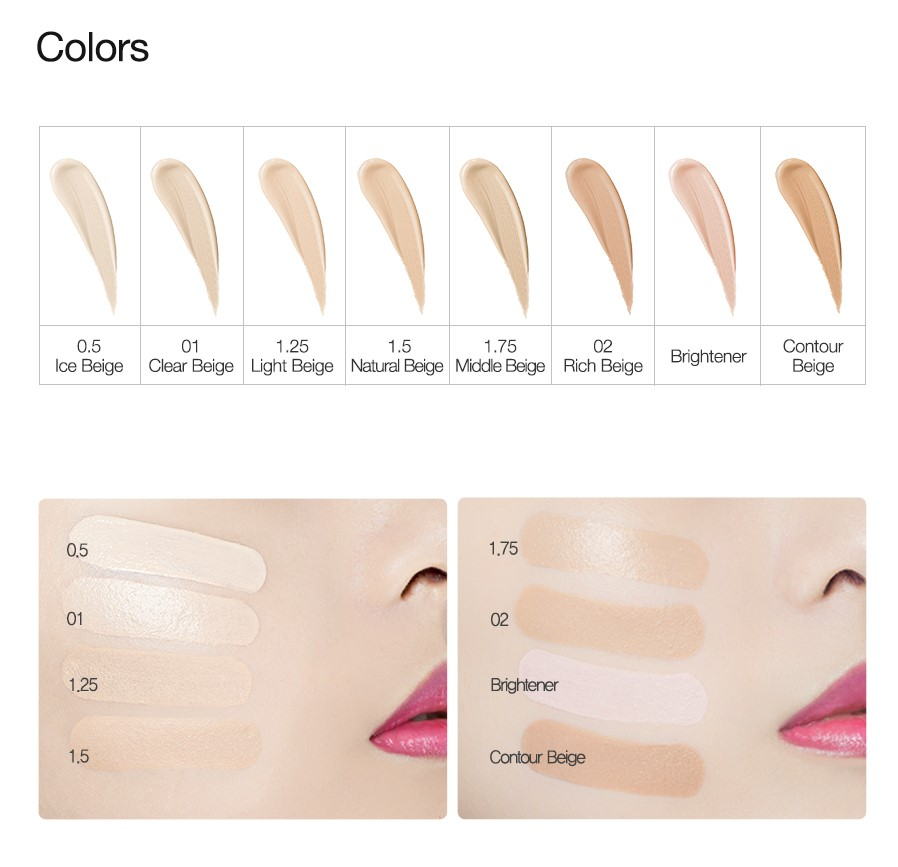 Консилер The Saem Cover Perfection Tip Concealer