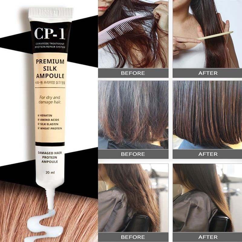Несмываемая сыворотка для волос с протеинами шёлка Esthetic House CP-1