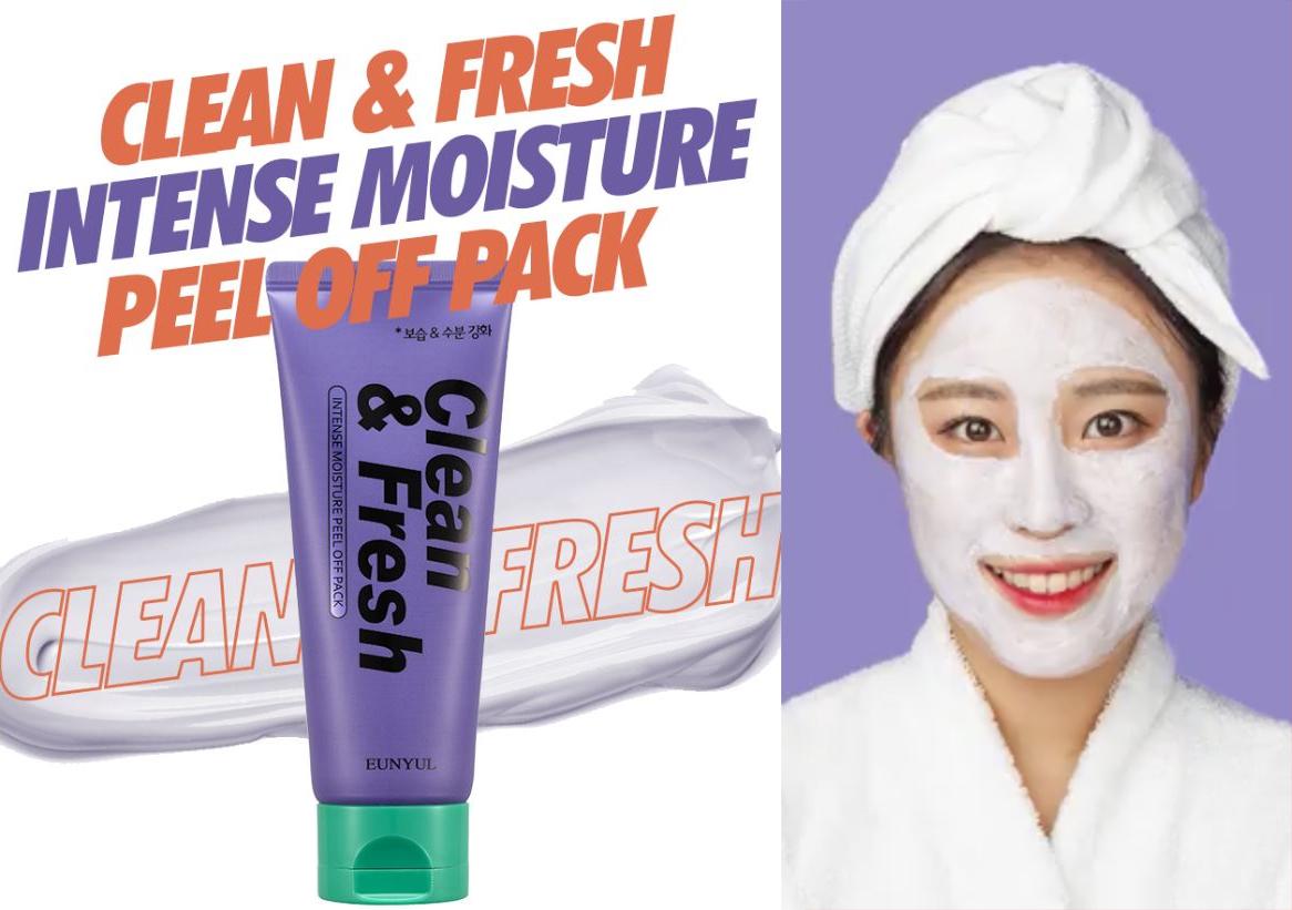 Маска-пленка интенсивно увлажняющая Eunyul Intense Moisture Peel Off Pack