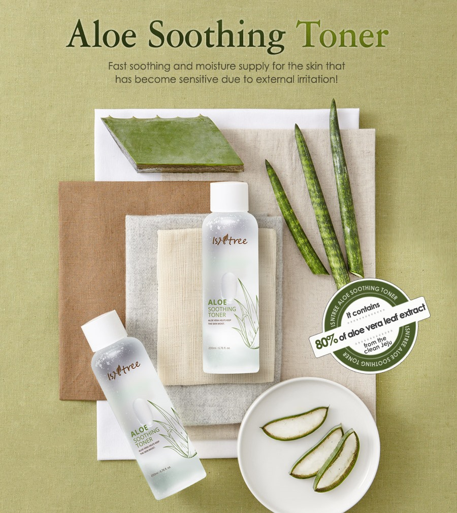 тоник Isntree Aloe Soothing Toner