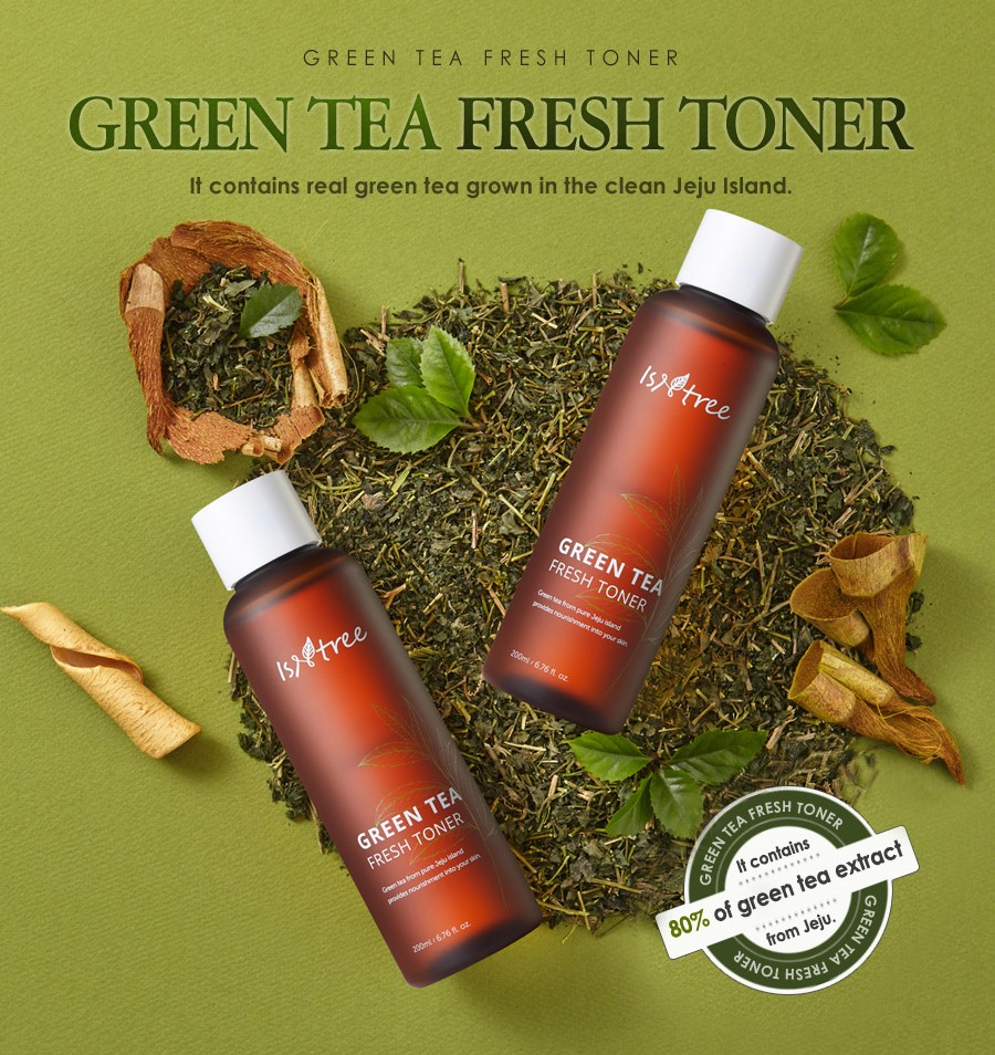 тонер Isntree Green Tea Fresh Toner