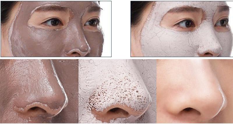 Очищающая маска с вулканической глиной и морской солью петитфи