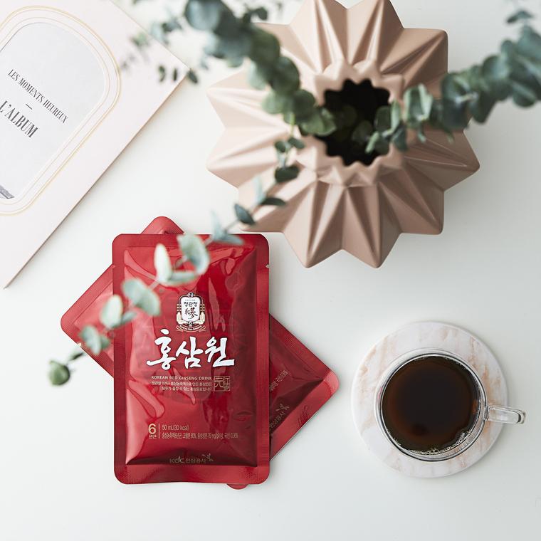 напиток с экстрактом корейского красного женьшеня CheongKwanJang