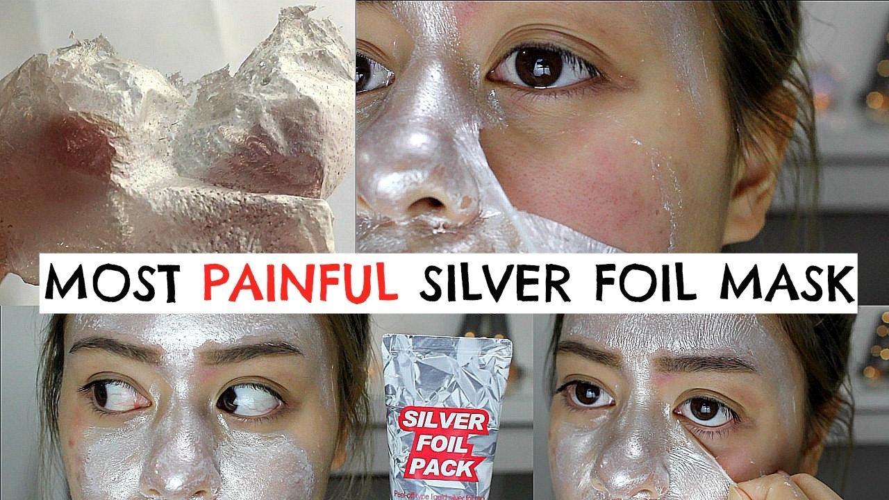 Apieu Серебряная маска-пленка