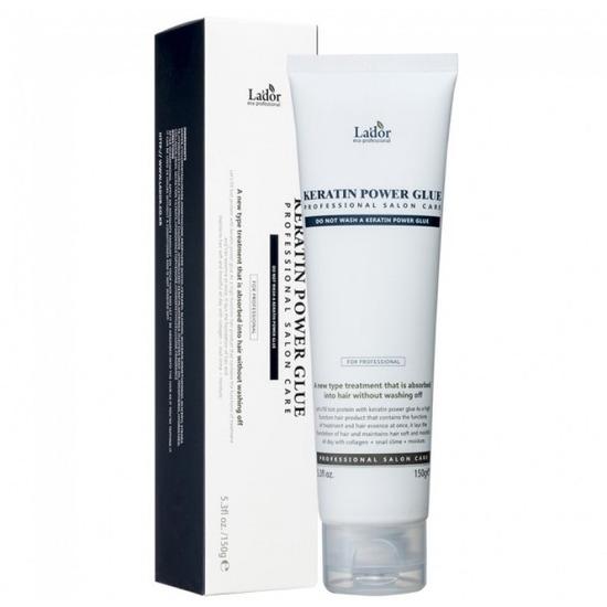 Профессиональная сыворотка-клей с кератином для секущихся кончиков волос Keratin Power Glue Lador (фото, вид 1)