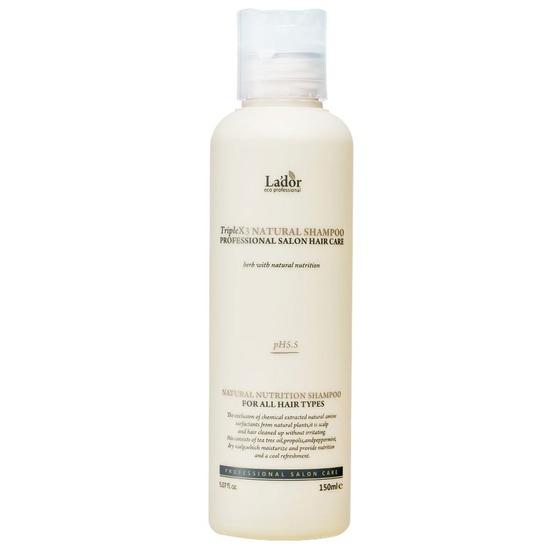 Профессиональный шампунь с натуральными ингредиентами Triple x3 Natural Shampoo Lador (фото, вид 1)