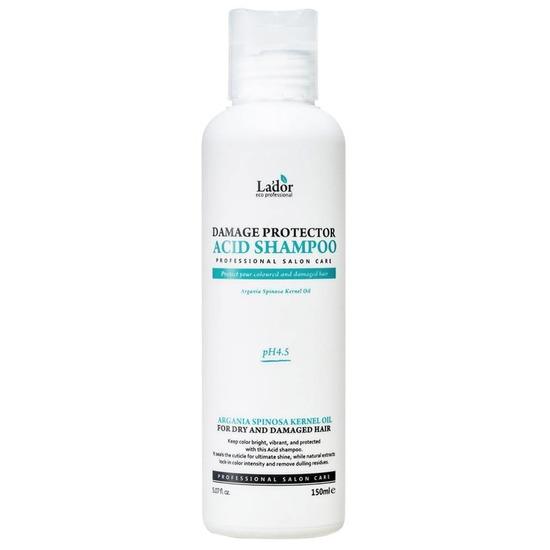 Шампунь для волос с аргановым маслом и протеинами шелка Damaged Protector Acid Shampoo Lador (фото, вид 2)