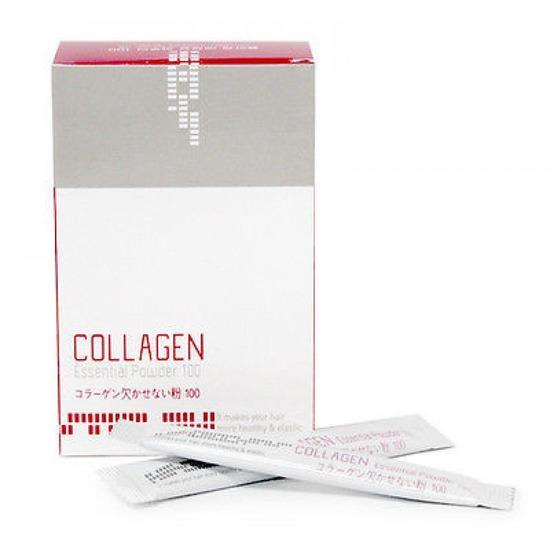 Восстанавливающая коллагеновая сыворотка пудра для волос Mugens Collagen Essential Powder Welcos (фото, вид 1)