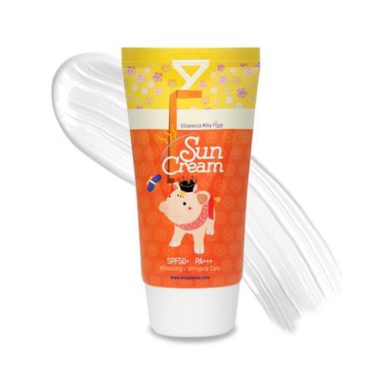 Солнцезащитный крем Milky Piggy Sun Cream SPF 50+ Elizavecca (фото, вид 1)