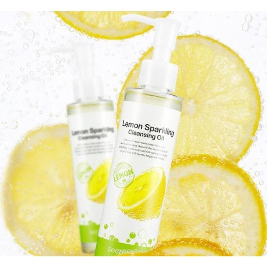 Гидрофильное масло с экстрактом лимона для снятия макияжа Secret Key (фото, вид 1)