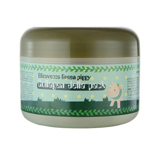 Желейная лифтинг маска для лица с коллагеном Green Piggy Collagen Jella Pack Elizavecca (фото, вид 2)