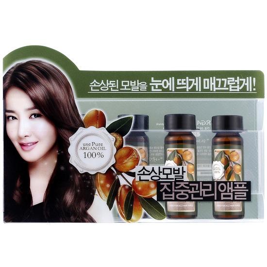 Набор ампул для восстановления сухих и поврежденных волос с аргановым маслом Confume Argan Treatment Hair Ampoule Welcos (фото, вид 1)