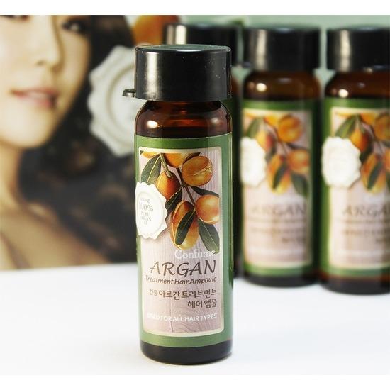 Набор ампул для восстановления сухих и поврежденных волос с аргановым маслом Confume Argan Treatment Hair Ampoule Welcos (фото, Набор ампул для восстановления сухих и поврежденных волос с аргановым маслом)