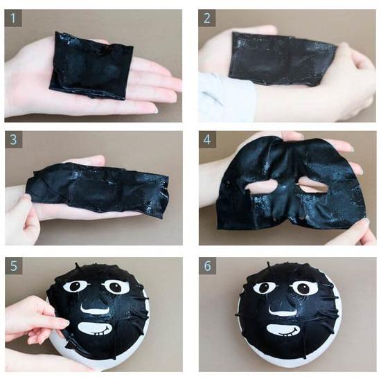 3-шаговая маска для проблемной кожи лица 3-step solution super elastic mask pack Elizavecca (фото, вид 1)