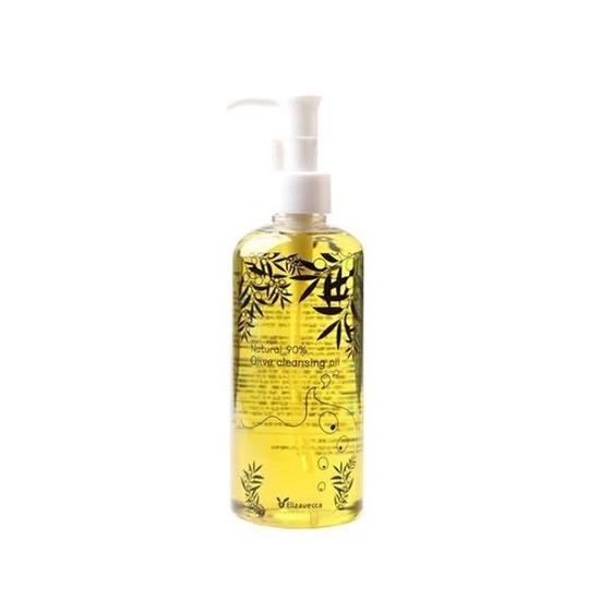 Гидрофильное масло с 90% содержанием натурального масла оливы Natural 90% Olive Cleansing Oil Elizavecca (фото, вид 2)