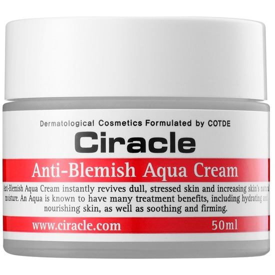 Увлажняющий крем Anti-Blemish Aqua Cream Ciracle (фото, вид 1)