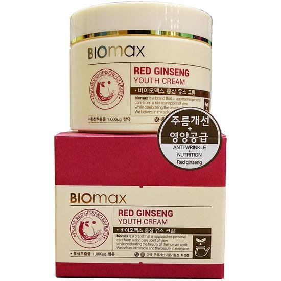 Омолаживающий крем для лица с красным женьшенем BIOmax (фото, вид 2)