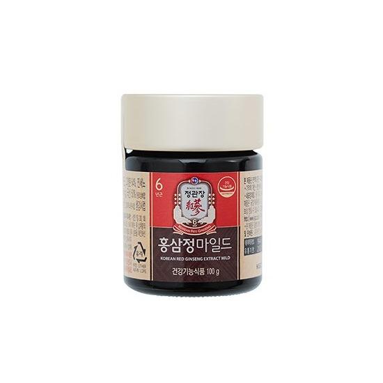 Экстракт 100% красного корейского 6-летнего женьшеня с медом Korean Red Ginseng Extract Cheong Kwan Jang (фото, вид 1)