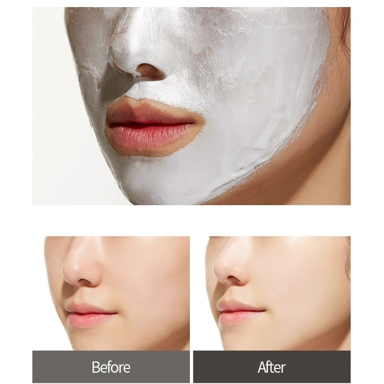 Серебряная маска-пленка для лица Silver Foil Pack Apieu (фото, вид 1)