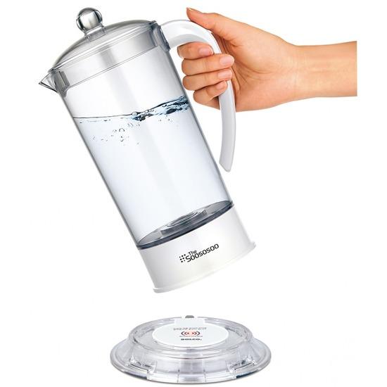 Аппарат для получения водородной воды с оздоровительным эффектом Soososoo TSH-100 (фото, вид 1)