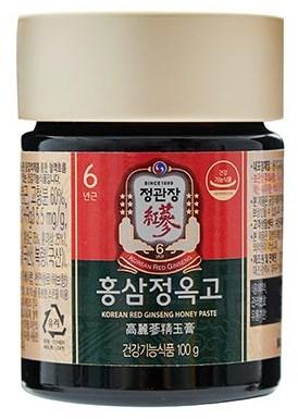 Медовая паста с экстрактом корейского красного женьшеня с травами Cheong Kwan Jang (фото, вид 2)