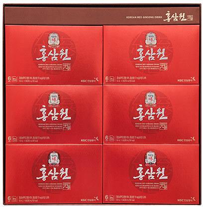 Безалкогольный негазированный напиток с экстрактом корейского красного женьшеня Cheong Kwan Jang (фото, вид 1)