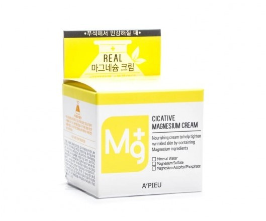 Крем для лица с магнием Cicative Magnesium Cream Apieu (фото, вид 2)