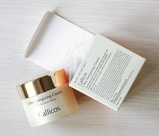Активизирующий крем для лица с экстрактом слизи улитки Callicos (фото, вид 2)