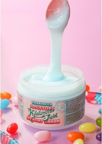 Увлажняющий крем для лица с гиалуроновой кислотой moisture hyaluronic acid memory cream Elizavecca (фото, вид 1)