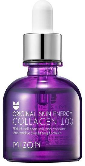 Сыворотка с 90% содержанием морского коллагена Original Skin Energy Collagen 100 Ampoule Mizon (фото, вид 1)