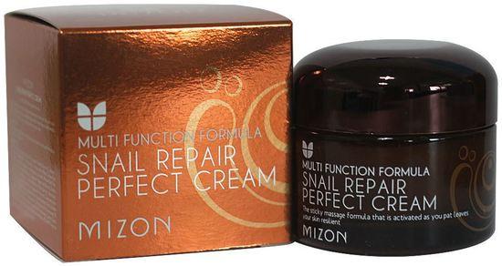 Питательный улиточный крем Snail Repair Perfect Cream Mizon (фото, вид 2)