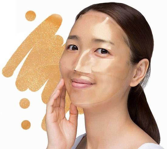 Гидрогелевая маска для лица с золотым комплексом Petitfee (фото, вид 1)
