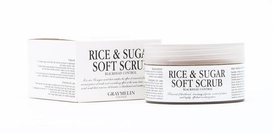 Мягкий скраб для лица с сахаром и рисом Graymelin (фото, вид 1)