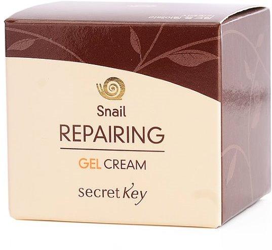 Крем-гель для лица с муцином улитки Snail Repairing Gel Cream Secret Key (фото, вид 1)
