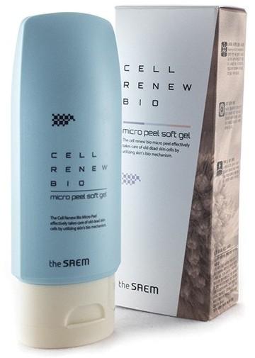 Пилинг скатка с растительными стволовыми клетками Cell Renew Bio Micro Peel Soft The Saem (фото, вид 1)