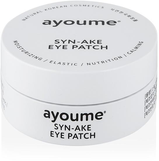 Антивозрастные патчи для глаз со змеиным пептидом Syn-Ake Ayoume (фото, вид 1)