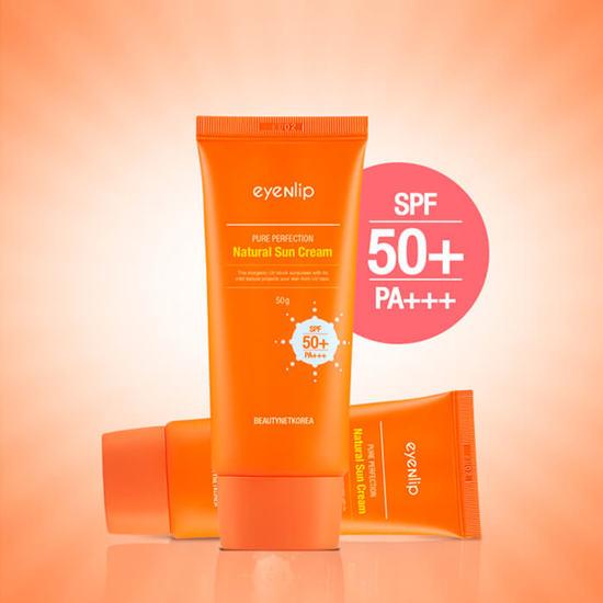 Увлажняющий солнцезащитный крем для лица SPF 50+/PA+++ Eyenlip (фото, вид 1)