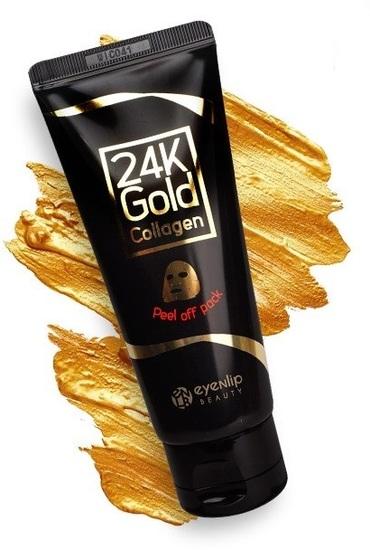 Очищающая маска-пленка с 24к золотом Eyenlip (фото, вид 1)