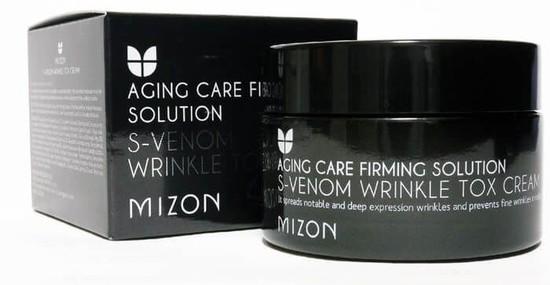 Антивозрастной крем со змеиным ядом S-Venom Wrinkle Tox Cream Mizon (фото, вид 1)