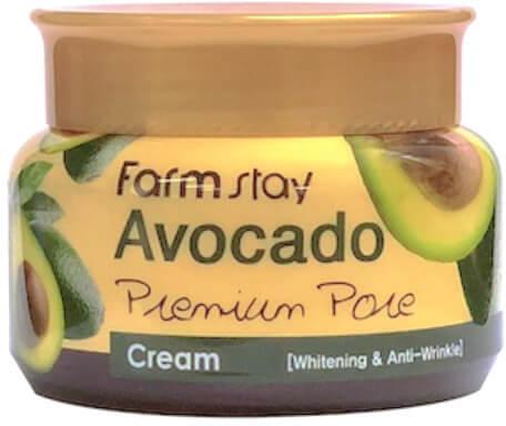 Осветляющий лифтинг-крем с экстрактом авокадо FarmStay (фото, крем для лица с авокадо фармстей)