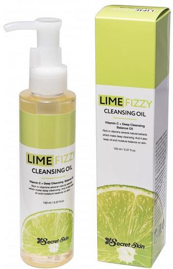 Гидрофильное масло для снятия макияжа с экстрактом лайма Secret Skin (фото, вид 1)