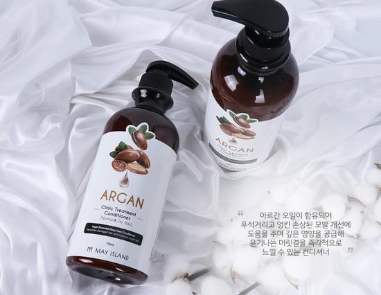 Восстанавливающий кондиционер для волос с аргановым маслом May Island (фото, вид 1)