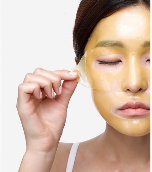 Гидрогелевая маска для лица выравнивающая тон кожи Petitfee (фото, вид 1)